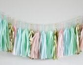 SWEET SPRINKLES Tissue Tassel Garland