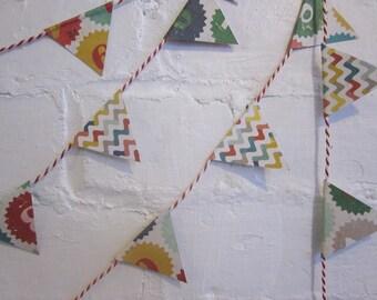 The Crafty Fox: DIY Monday! Crochet Triangle Garland.