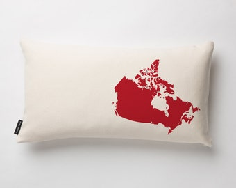Canada Pillow in Off-white with fill