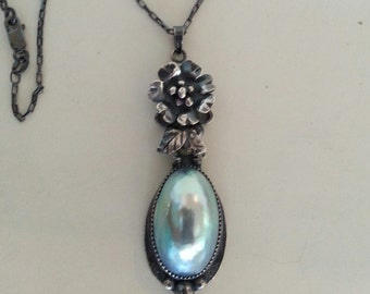 Osmena Pearl Pendant in Sterling Silver
