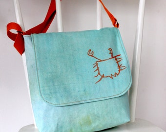 """Small """"Seaside"""" Messenger Bag from Age 3"""