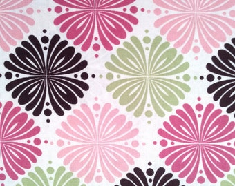 Serendipity Medallion Fabric by the yard or fabric by the half yard, or fat quarter, Cotton Fabric, Quilt Fabric, HL6