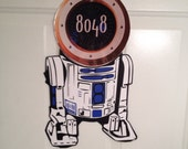 R2D2 Star Wars Disney cruise  Body Part Stateroom Door Magnets for Disney Cruise