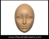 Mold No.176 (Face-High cheekbone with Opend eyes) by Veronica Jeong