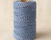 Full Spool Heavy Twine - 100 Yards - Oxford Blue - 10 Ply Heavy Cotton Twine No. 16