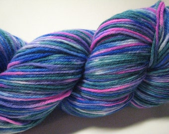 Pop of Neon - sock yarn - superwash merino and nylon