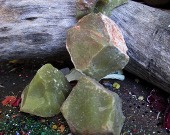 Rita's Serpentine Ritual Crystal - Inner Peace, Emotional Balance, Contact Angelic and Fairy Realms
