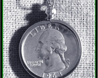 1963 US Silver coin necklace