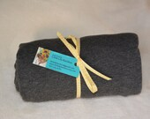 Organic Bamboo Swaddling Blanket, Extra Large, Charcoal