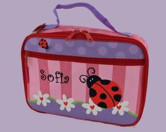 Personalized Stephen Joseph Ladybug Lunchbox