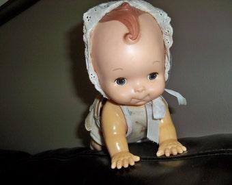 playmates crawling doll all original outift