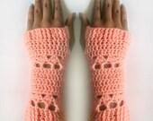 Little Arbor Fingerless Gloves - PDF Crochet Pattern - Instant Download