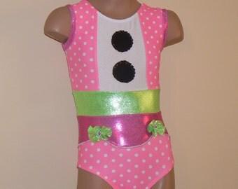 Lalaloopsy Jewel Sparkles Inspired Gymnastics Dance Leotard Size 2T - Girls 7