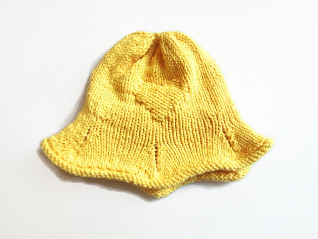 Knitting Pattern For Baby Sun Hat : Baby Sun Hat Knit Sun Hat 3-6 Month Baby Hat by PreciousBowtique