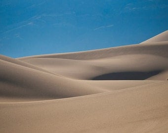 Eureka Sand Dunes, Death Valley Fine Art Print