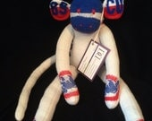 REDUCED!! Chicago Cubs Sock Monkey