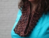 Riparia - a one skein, crochet cowl pattern