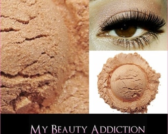 Loose Mineral Eyeshadow-Peach Frost