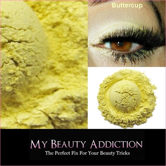 Mineral Eyeshadow-Buttercup