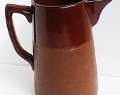 Vintage Coffee Pot. Vintage Australian Bendigo Pottery. 1915-1930. Signed. Jug/Coffee Pot. Pitcher. Art Deco.