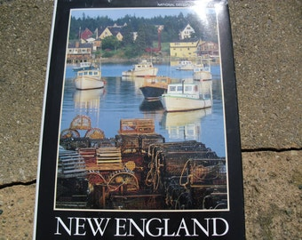 Vintage Book New England