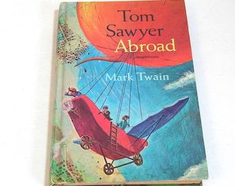 Tom Sawyer By Mark Twain Vintage Golden Press Childrens Book