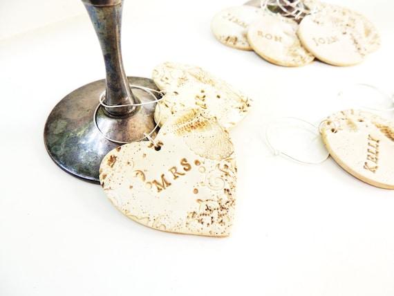 Personalised Wedding Wine Glass Charms : Wine Glass Charms Personalized Wedding Party Starfish Beach Wedding ...