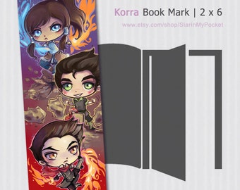 Legend of Korra Bookmark