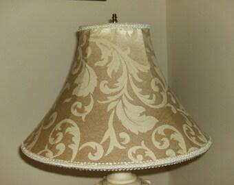 Cream Silk Lampshade