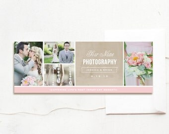 Facebook Timeline Photography Template & Blog Header - Wedding Planner - Events Coordinator - Branding Materials - Photography Templates