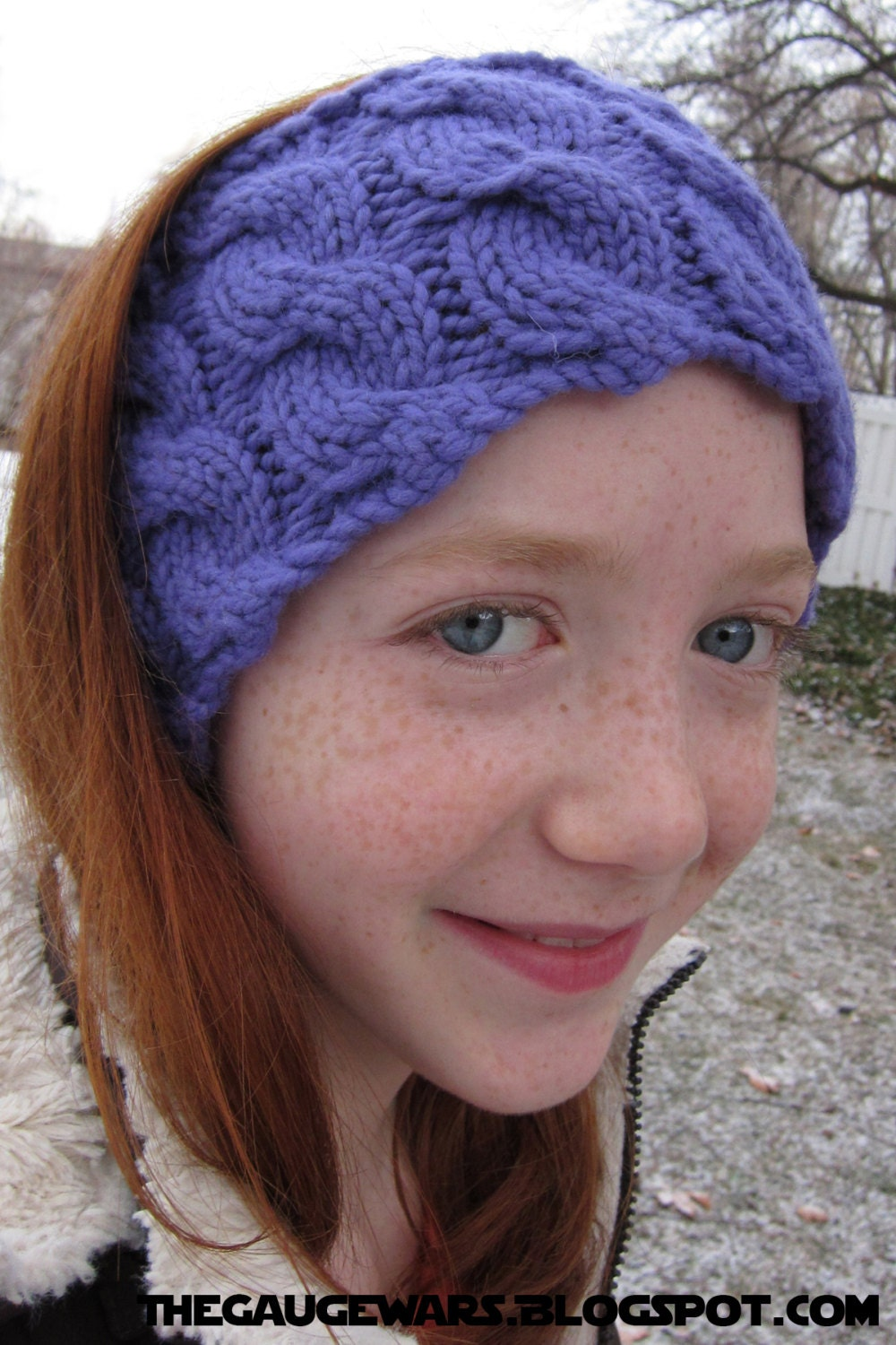 Knitting Pattern Ribbed Headband : Running Headband Pattern PDF Knitted Ribbed Cable by dahle ...