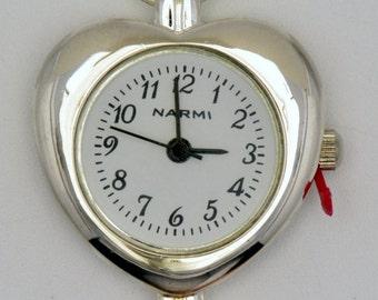 Heart Watch Face | White Watch Face | Silver Watch Face | Round Watch Face | Ladies Watch Face | Womens Watch Face | Watch Face - WF00067