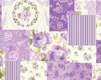 Christine Violet Celebrity by Eleanor Burns for Benartex Cotton Fabric 714-66
