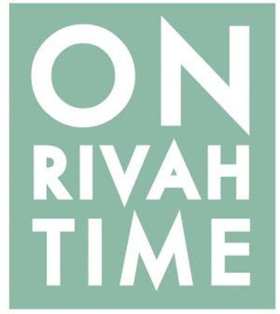 On Rivah Time 18 x 21