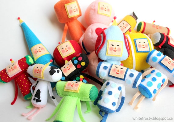 MADE TO ORDER - Katamari Mini Plush - Custom Cousin