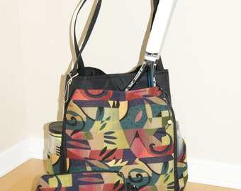 Large Tennis Bag and Small Accessory Bag- made to order!