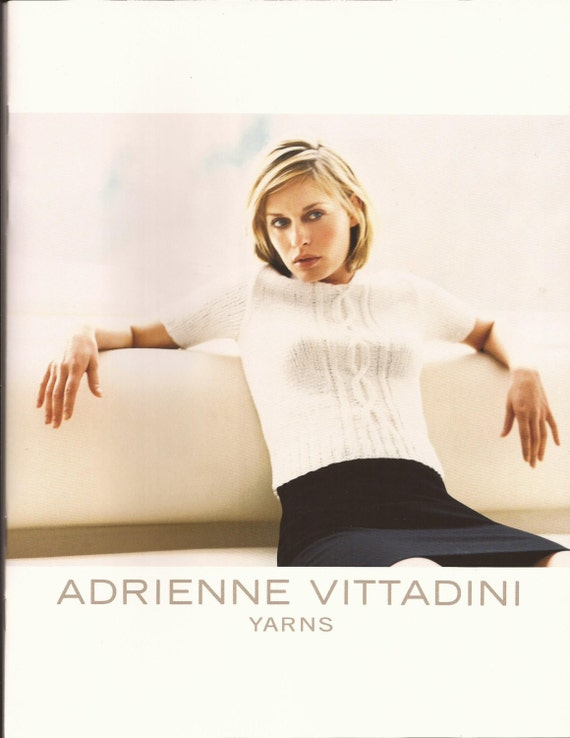 Adrienne Vittadini Knitting Pattern Books : Adrienne Vittadini Knitting Pattern Book Vol 8 / 9 Womens