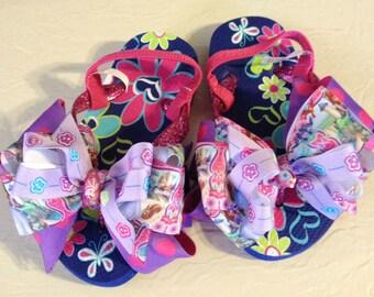 Sophia Boutique Flip Flops Little Girl Size 10-11