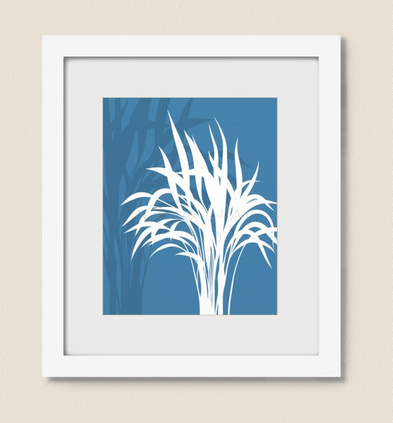 Beach House Decor Items: Items Similar To Blue Beach House Decor, Tropical Wall Art