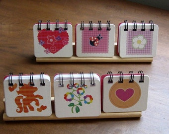set of 6 my little pony notebooks