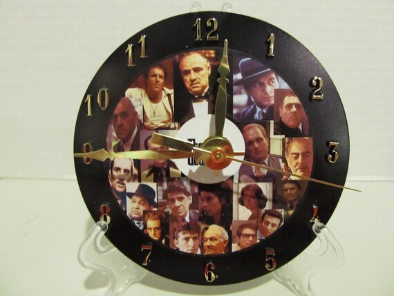 Godfather Cd Clock By Legendsoftheheart On Etsy