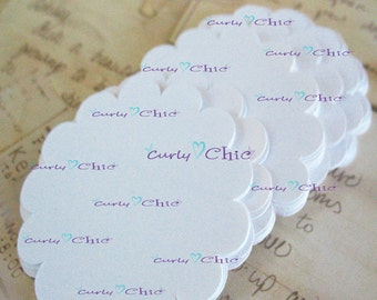 "96 Scalloped Circle Die cut Size 2 1/2"" -Scalloped Circles die cuts -Cardstock tags -Scalloped labels -Paper die cuts -Paper Die cuts"