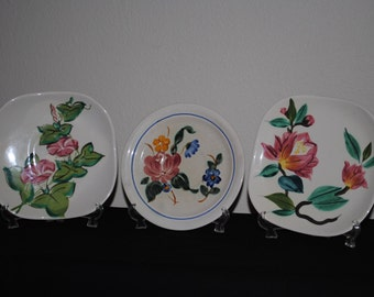 Redwing Small Dishes--Set of Three +++free s/h
