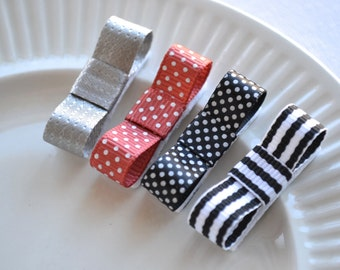 Baby Hair Clips - Infant Snap Clips - Hair Clips for Baby Girls - Baby stocking stuffer
