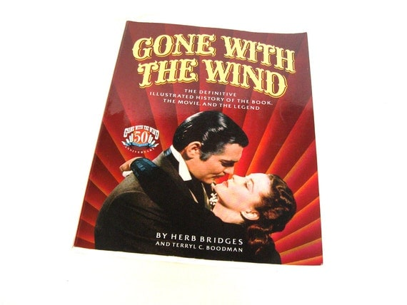 Gone With The Wind 50th Anniversary Book 1989 By