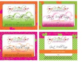 One Custom Label Design for Your Product, Editable Option Available