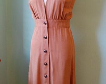1930s  1940s vintage  jumper skirt  size S