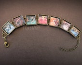 Edgar Degas Art Brass or Silver plated bracelet  Impressionism Ballerina Ballet Dancers Realist French Impressionist Paintings Dance Jewelry