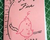 Fourty Five Fat Birds Minicomic