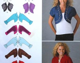 Bolero Jacket Sewing Pattern UNCUT Simplicity 2478 Sizes 6-14